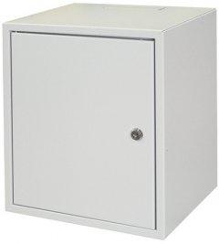 """Шкаф настенный серверный ZPAS 10"""" 26 см с металлической дверью 7U (WZ-3661-01-01-011)"""