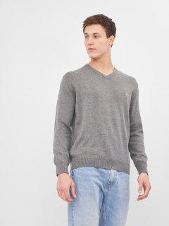 Пуловер Polo Ralph Lauren 9776.4 S (42) Темно-серый с розовым