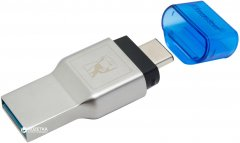 Кардридер Kingston MobileLite Duo 3C USB 3.0 Type-A/C (FCR-ML3C)