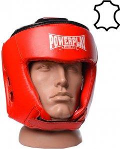 Боксерский шлем PowerPlay 3049 S Красный (PP_3049_S_Red)