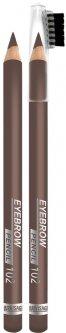 Карандаш для бровей Luxvisage тон 102 русый шатен (4811329018401)