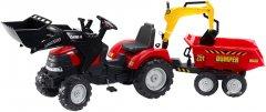 Детский трактор Falk 995W Case Ih Puma на педалях Красный (995W) (301600995234)