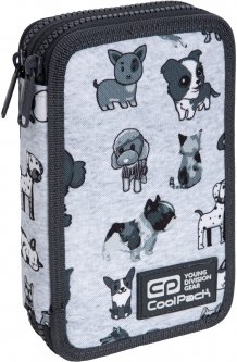 Пенал Coolpack Jumper 2 35 предметов 2 отделения Doggies (C66180)