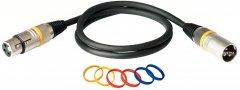 Микрофонный кабель RockCable RCL30351 D7 1 м Black (RCL30351 D7)