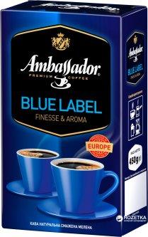 Кофе молотый Ambassador Blue Label 450 г (8719325127423)