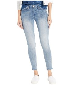Джинси Seven7 Jeans Mid-Rise Ankle Skinny w/ Raw Hem in Radiant Radiant, L (46) (10439145)