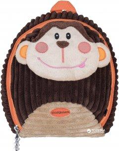 Рюкзак дошкольный Сool For School Brown Monkey 25х20х11 см 1 л (CF86120)