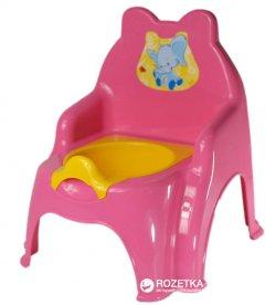 Детский горшок Active Baby Слоник Розовый (01-013317-1/016) (4822003250109)