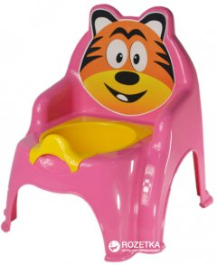 Детский горшок Active Baby Тигрик Розовый (01-13317/016) (4822003270206)