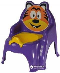 Детский горшок Active Baby Тигрик Фиолетовый (01-13317/019) (4822003281547)