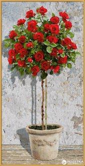 """Набор художественного творчества Schipper """"Дерево красной розы"""" 40х80 см (9220776) (4000887927762)"""