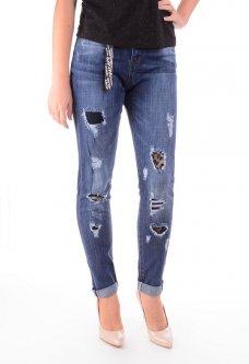Женские джинсы в молодежном стиле 27