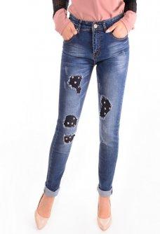 Женские джинсы в молодежном стиле 29