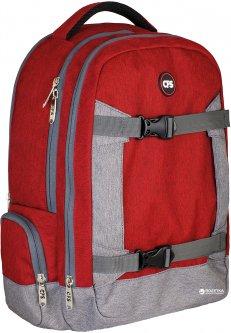 Рюкзак молодежный Сool For School 43 x 28 x 15 см 18 л Унисекс Красно-серый (CF86347)