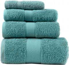 Махровое полотенце Arya Miranda Soft 100х150 см Аква (8680943039729)