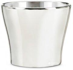 Кашпо для цветов Scheurich Mirror Silver 13 (4002477586892)