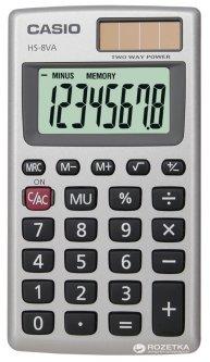 Калькулятор Casio 8 разрядный 57х102х6.9 (HS-8VA-S-EP)