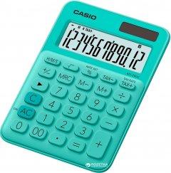 Калькулятор Casio 12 разрядный 105х149.5х22.8 (MS-20UC-GN-S-ES)