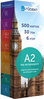 Карточки для изучения английского языка English Student А2 Pre-Intermediate 500 шт (9789669764751)