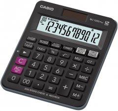 Калькулятор Casio 12 разрядный 130х150х30 (MJ-120DPLUS-W-EP)