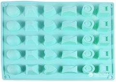 Форма для шоколада и льда Fissman Конфеты ассорти 30 ячеек 27 х 23.5 х 3 см (6555)
