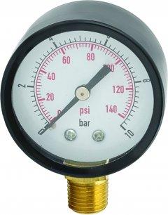 Манометр радиальный 0-10 бар 50 мм AQUATICA (779538)