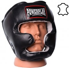 Боксерский шлем PowerPlay 3065 S/M Черный (PP_3065_S/M_Black)
