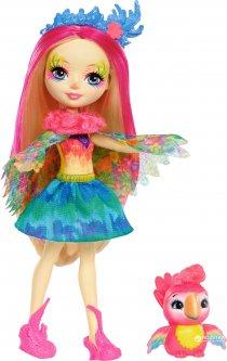 Кукла Enchantimals Попугайчик Пикки (FJJ21) (887961537659)