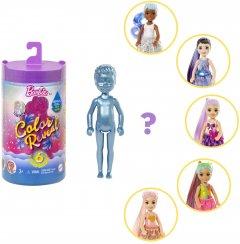 """Кукла-сюрприз Barbie Челси и друзья Цветное перевоплощения серия """"Блестящие"""" в асортименте (GTT23)"""