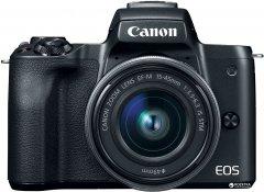 Фотоаппарат Canon EOS M50 Kit 15-45 IS STM Black Официальная гарантия! (2680C060AA)