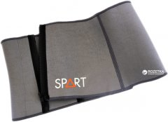 Пояс для похудения SPART (Rising) неопреновый 100x20 см Grey (CA6214)