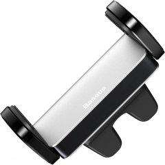 Автодержатель для телефона Baseus Steel Cannon Air Outlet Car Mount Silver (SUGP-0S)