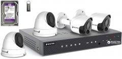 Комплект видеонаблюдения Balter Kit 2MP 2Dome 2Bullet 1ТБ
