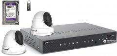 Комплект видеонаблюдения Balter Kit 5MP 2Dome 1ТБ