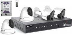 Комплект видеонаблюдения Balter Kit 5MP 2Dome 2Bullet 2ТБ