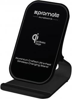 Беспроводное зарядное устройство Promate AuraDock-5 10 Вт Black (auradock-5.black)