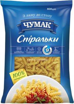 Макароны Чумак Спиральки 800 г (4820156769349)