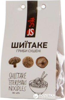 Грибы сушеные JS Shiitake 30 г (4901177100097)