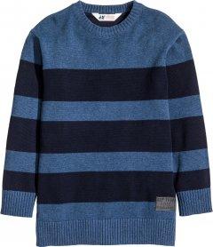 Джемпер H&M 0425424 158-164 см Темно-синій (6666000072108)