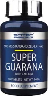 Предтренировочный комплекс Scitec Nutrition Super Guarana With Calcium 100 таблеток Без вкуса (728633102549)
