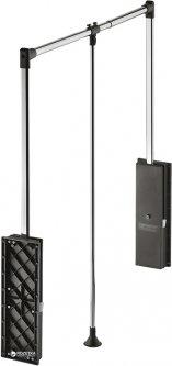 Гардеробный лифт Hafele Professional 15 кг 870-1190 мм Черный (805.24.230)