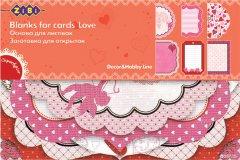 Набор заготовок для открыток ZiBi Love 10.2 x 15.3 см (ZB.18200-AF) (4824004026615)