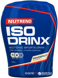 Изотонический напиток Nutrend Isodrinx 420 г Грейпфрут (8594073176721)