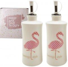Набор бутылок для масла/уксуса S&T Фламинго 320 мл 2 предмета (700-07-13)