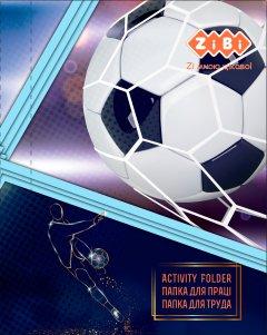 Папка для труда ZiBi Kids Line Football А4+ на резинке (ZB.14914)