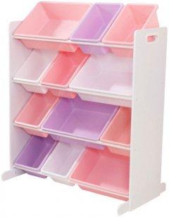 Мебель для хранения KidKraft 12 полок Розовый (15450)