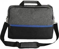 """Сумка для ноутбука Kodor Protection Oxford 600D 15.6"""" Grey/Black (Н0011)"""