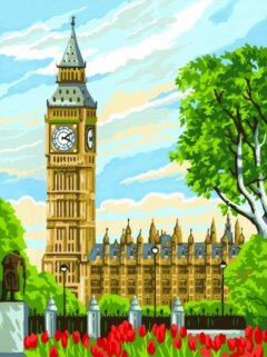 Набор для творчества Sequin Art Painting by numbers Junior Big Ben 23x30 см (SA1331)