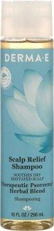 Шампунь успокаивающий Derma E для чувствительной кожи головы и от псориаза на основе трав 296 мл (030985087307)