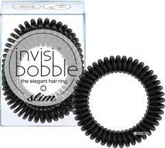 Резинка-браслет для волос Invisibobble Slim True Black 3 шт (4260285377143)